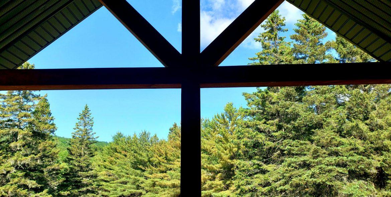 Vue du balcon arrière